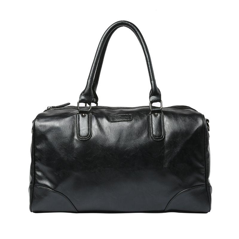 Men s PU Leather Sports Bag Messenger Bag For Gym Fitness Male Men ... 253d6084b2b67