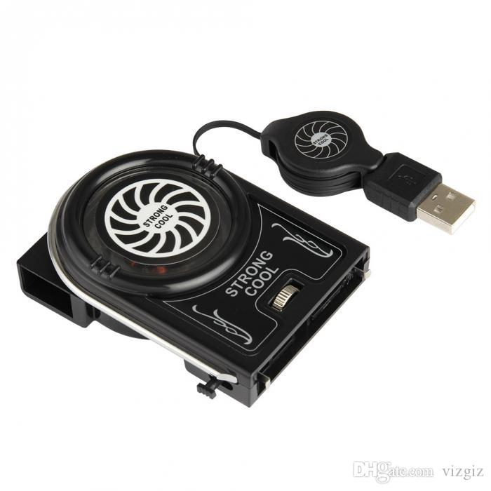 Mini Vacuum Strong Cool Air Extract USB Notebook Laptop Cooling Cooler Fan Pad XXM