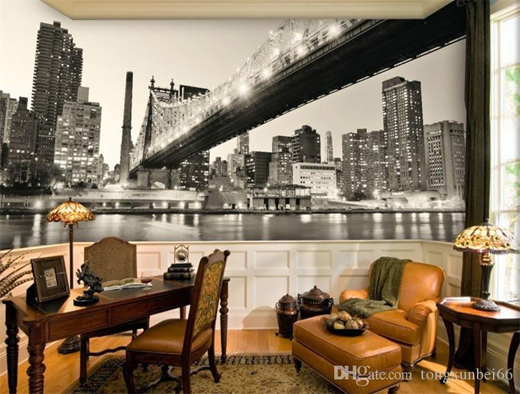 New York City Photo Wallpaper Customized Manhattan Bridge