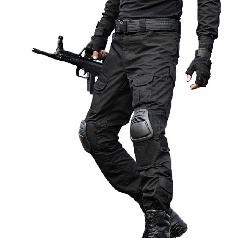 Acquista Pantaloni Tattici Pantaloni Cargo Militari Uomini Pantaloni  Mimetici Pantalon Pantaloni Da Lavoro Pantaloni Sportivi Army Hunter  Speciale Pantaloni ... 042c0224055