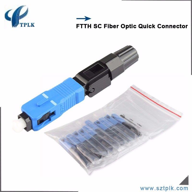 Compre Ftth Embutido Conector De Montagem Rápida SC UPC Fio Coberto Conector  De Fibra Óptica De Fava,  63.35   Pt.Dhgate.Com 3b42335316