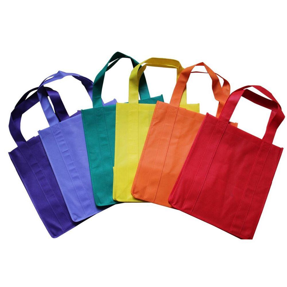 / Personnalisé Sac Eco Sac en tissu pliable personnalisé Webshop non tissé se pliant sacs à provisions réutilisables pour le supermarché