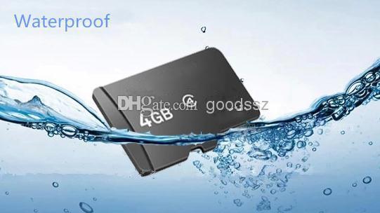 셀룰라 전화 MP3 / 4 / 5 정제 PC를위한 접합기를 가진 100 % 진짜 4GB 기억 TF 카드