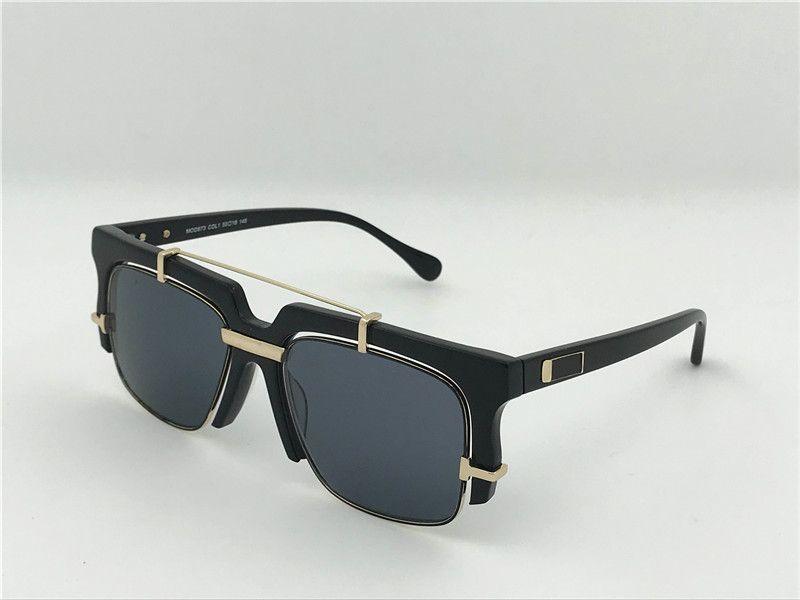 e6c5e75685 Compre Vintage Gafas De Sol De Diseño Alemania Gafas De Sol CZ873 Medio  Marco Steampunk Estilo Hombres Marca Deisnger Con Gafas De Sol Originales  Para El ...