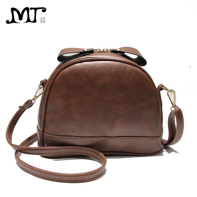 76773cfd86 MJ Women Leather Messenger Bag Female Retro PU Shoulder Crossbody Bag Small  Leather Handbag Cute Bags For Girls Fiorelli Handbags Patricia Nash Handbags  ...