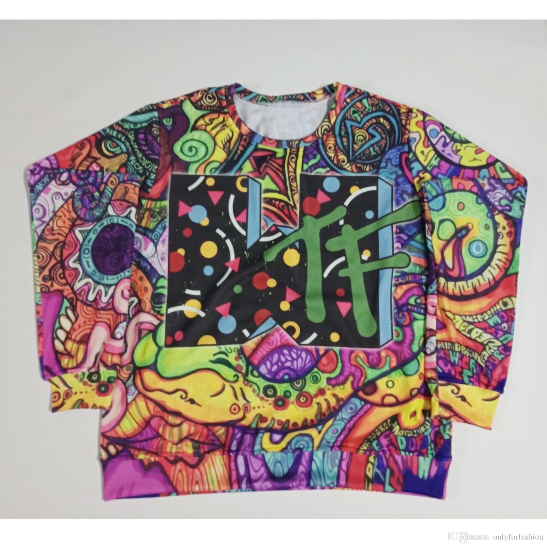 05d1bf440 2019 Real USA Size WTF 3D Sublimation Printing Sweatshirt Crewneck Plus Size  3XL 4XL 5XL 6XL From Onlyforfashion, $24.22 | DHgate.Com