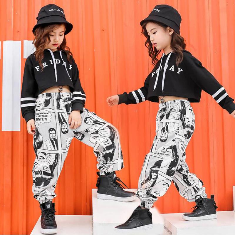 Acquista Ragazze Jazz Modern Danza Costumi Abbigliamento Tute Bambini  Bambini Hip Hop Abbigliamento Da Ballo Abiti Abbigliamento Sportivo  Abbigliamento ... 12a9bd580e88
