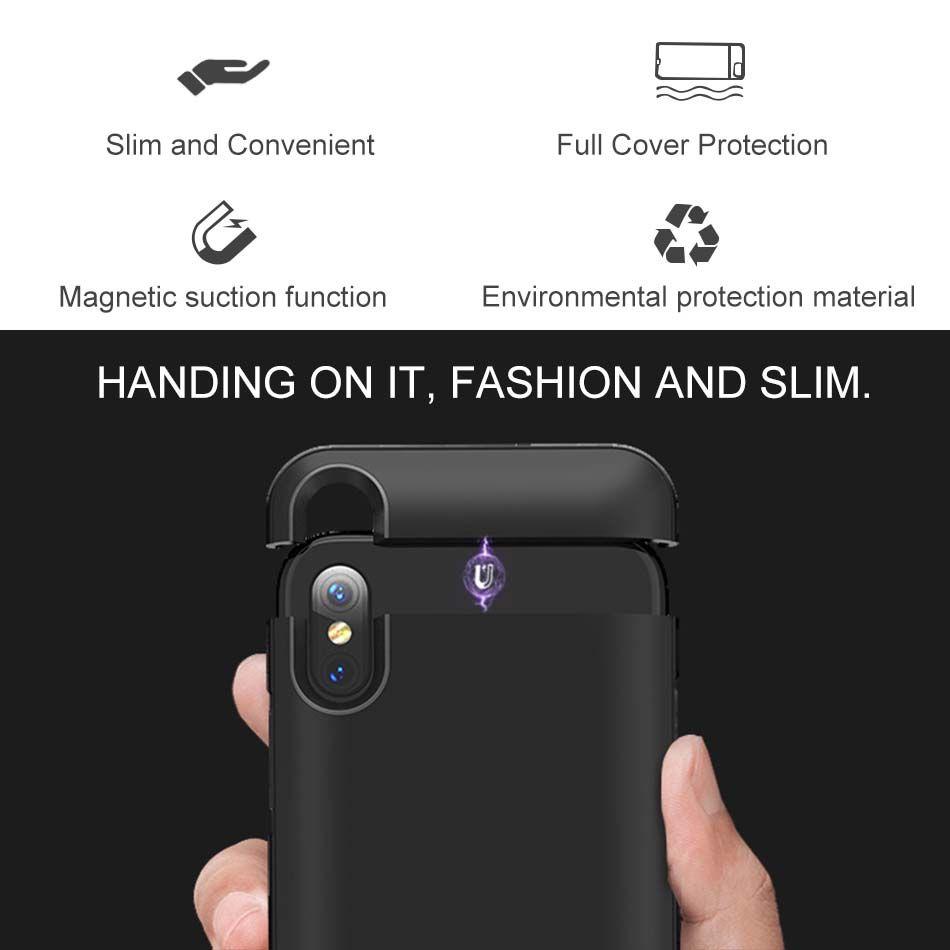 Custodia originale iPhone XS MAX XR 7 8 PLUS. Cover posteriore