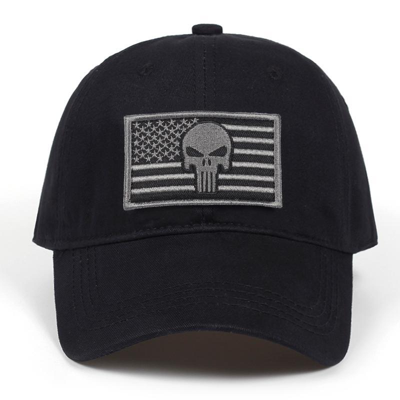 Compre 2018 Mais Novo Dos Eua Bandeira Nacional Warrior Hat Tampão Do Boné  De Beisebol Dos Esportes Táticos Caps De Alta Qualidade Marinha Selo  Exército ... f897da87ecd