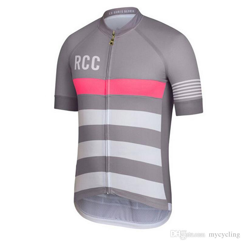 Uomini RAPHA Estate Cycling Jersey manica corta Jersey Bicicletta Bike Jersey Abbigliamento ciclismo Strada Mountain Riding Mtb T shirt Maschio D0905