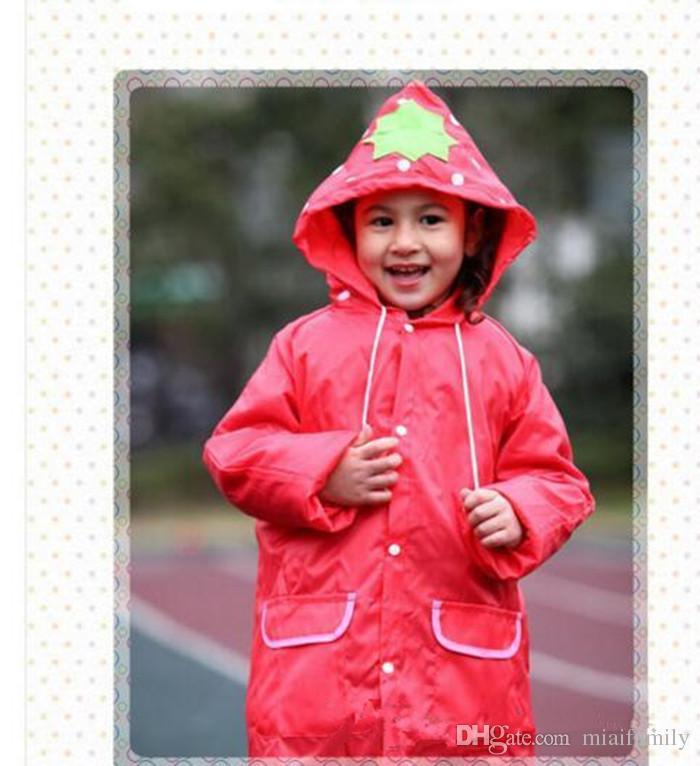 Linda Funny Rain Coat Enfants Enfants Manteau De Pluie Vêtements De Pluie Rainsuit Enfants Imperméable Animal Imperméable 5 couleur CHAUDE