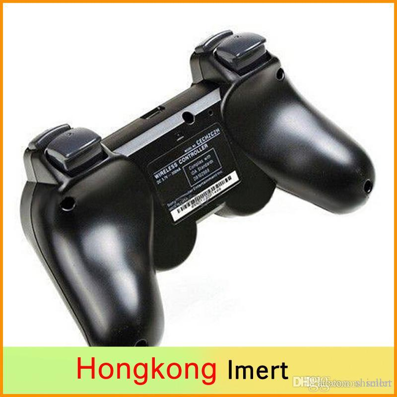 SIXAXIS Controller & black bluetooth Wireless Gamepad for Sony Playstation 3 PS3 Controller Joystick