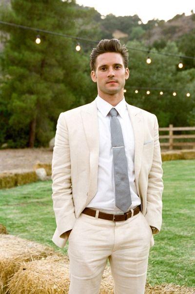 Özel Fildişi Astarlı Erkek Takım Elbise 2018 Düğün En İyi Erkek Yaz Basit Erkek Klasik Takım Elbise Doruğa Laper Smokin Ceket + Pantolon