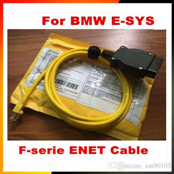 High Performance ESYS 3 23 4 V50 3 Data Cable For bmw ENET Ethernet to OBD2  Interface E-SYS ICOM Coding Cable for F-serie