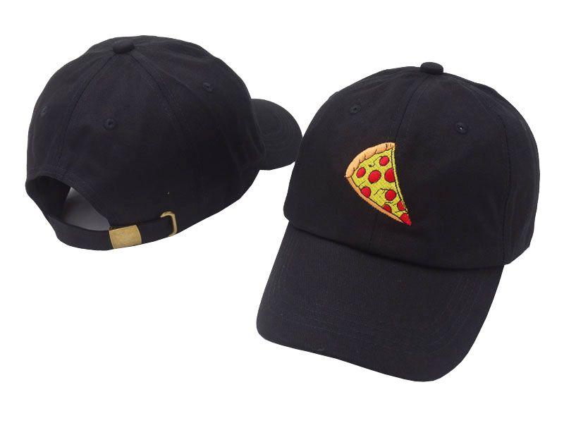 3626d06c2bb Black Pizza Dad Peaked Cap Multicolor Hip Hop Baseball 100% Cotton ...