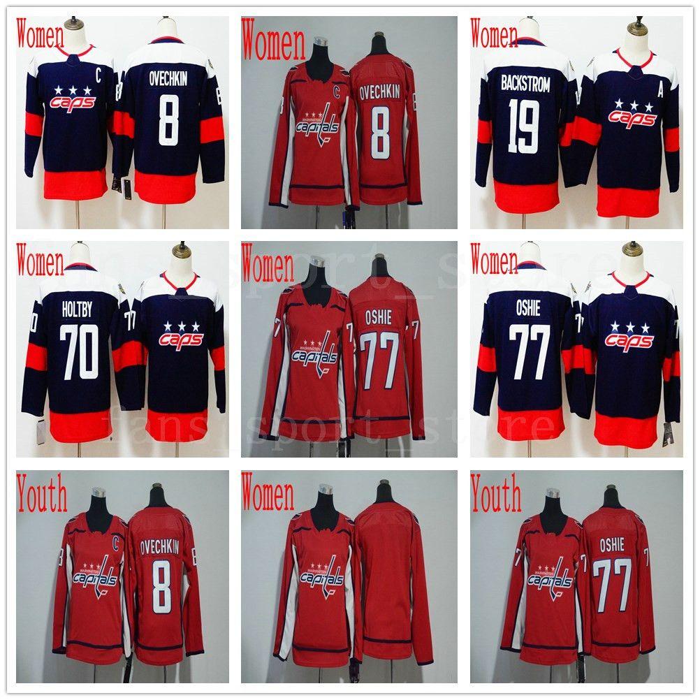 quality design 51509 e0d7c washington capitals 8 alex ovechkin red kids jersey