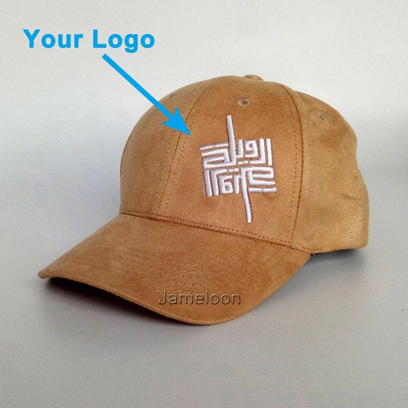 b6173d58e84a Curve Brim Suede Material Good Quality Adult Adjustable Size Custom Made  Design Baseball Hat Metal Buckle Closure Custom Cap Compton Cap Baseball  Caps For ...