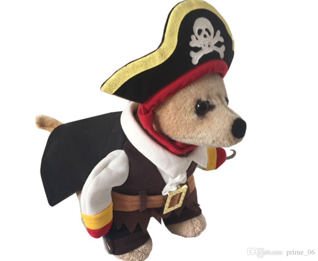 2018 2018 New Fashion 100% Cutton Funny Pirate Dog ClothsHalloween Puppy Pet Dog Costumes ClothingComfortable Apparel From Prime_06 $88.45 | Dhgate.Com  sc 1 st  DHgate.com & 2018 2018 New Fashion 100% Cutton Funny Pirate Dog ClothsHalloween ...