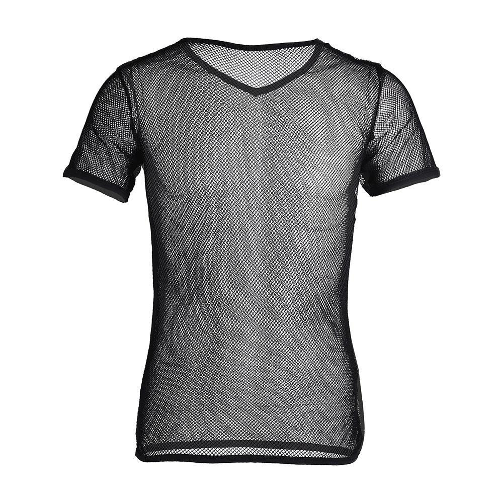 9bf84209d749 Spandex 2017 Brand Sexy Mens Mesh See Through Clubwear Tank Vest Spandex  Gay Men Shirt Underwear Summer Vest Sexy Wetlook Shapers Clothes T Shirt  Crazy T ...