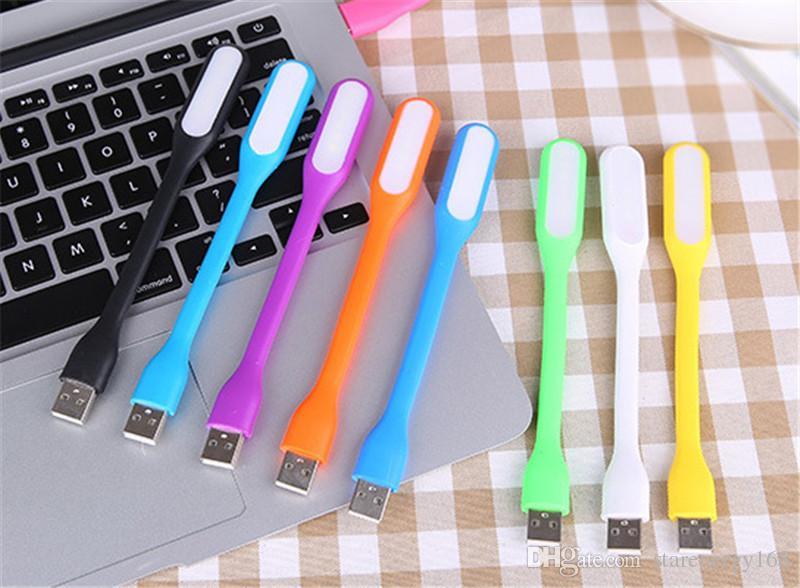 2018 USB LED Lampe LED Lumière Portable Flexible Bendable Xiaomi USB Lumière pour Ordinateur Portable Portable Tablet Banque de Puissance USB Gadgets L301 Livraison Gratuite