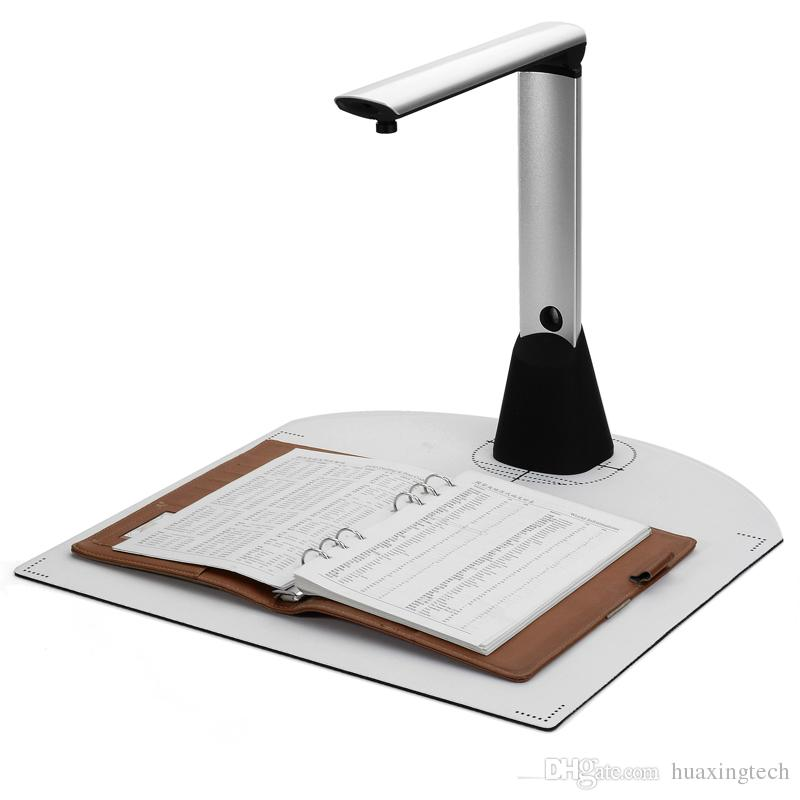 Portable High-Speed A3 A4 A5 Document Photo Book ID Card 500 Mega Pixel Cam  Scanner visualizer 2592*1944