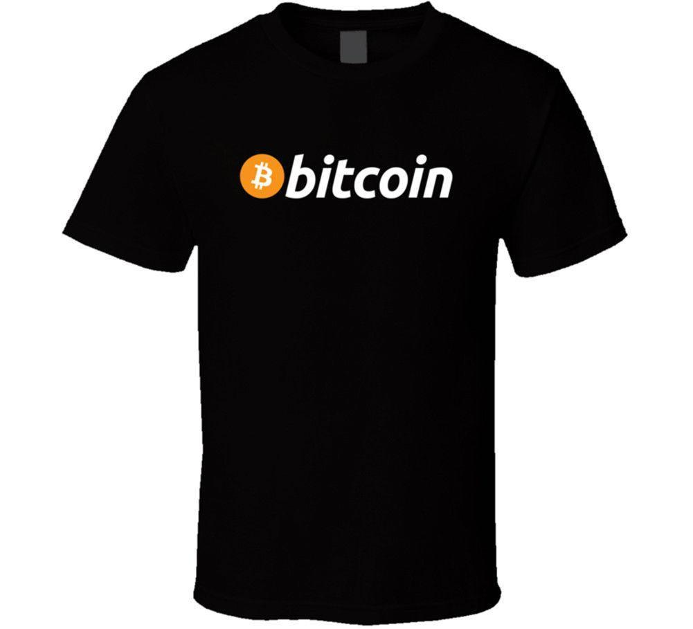 Bitcoin T Shirt BTC Crypto currency Blockchain Coin Mining Wallet New From  US