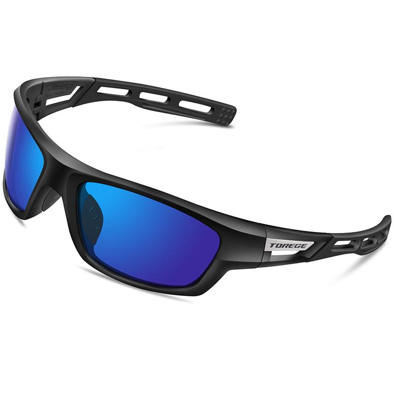 153dcc6d30 2019 TOREGE Polarized Sports Sunglasses For Men Women Cycling Running  Driving Fishing Golf Baseball Glasses TR90 Bike Riding Goggles From Ixiayu