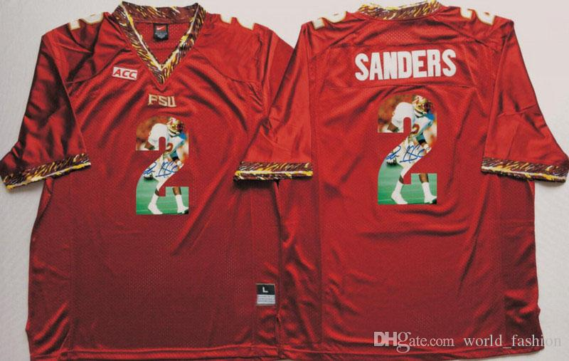 434d2fb5a ... cheap 2019 florida state seminoles red jersey 2 deion sanders 5 jameis  winston mens college football