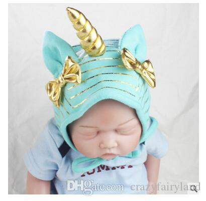eb91ad941b24f 2019 Kid Skullies Beanie Hats Cute Soft Children Unicorn Cosplay Cap With Handmade  Girls Boys Girls Rabbit Ears Unicorn Hat DHL From Crazyfairyland