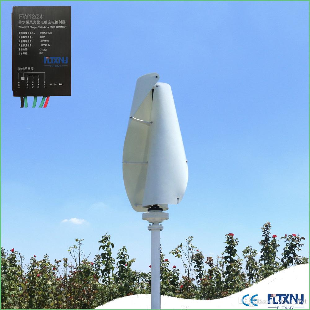 hot !! maglev wind generator 600w 12/24v vertical axis wind turbine with  12v/24v controller for home use
