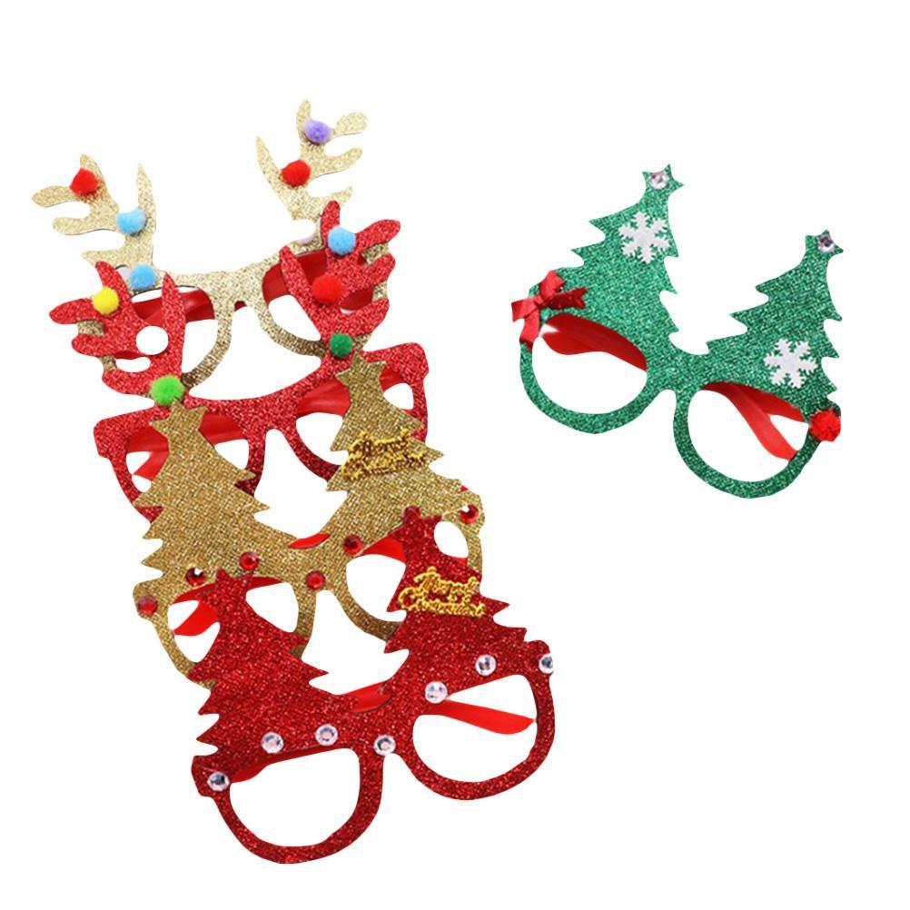 Eyeglass Frame Lovely Decorative Cute Antler Christmas Tree Fashion