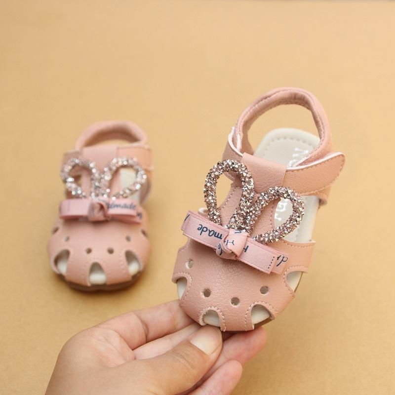 1 Douces Dream Infant Mignon Ans Petite Strass Toddler Chaussures Petit Bébé 2 Sandales Princesse Filles Lapin YbfvIym7g6