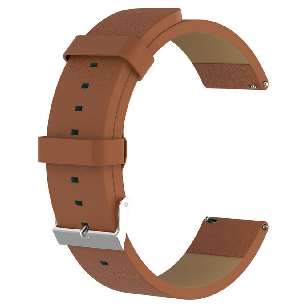 Sostituzione cinturino dell'orologio cinturino cinturino in pelle di fascia da polso 2018 di ricambio cinturino orologio Fitbit Versa Smart Wristband VS Fitbit Charge 2
