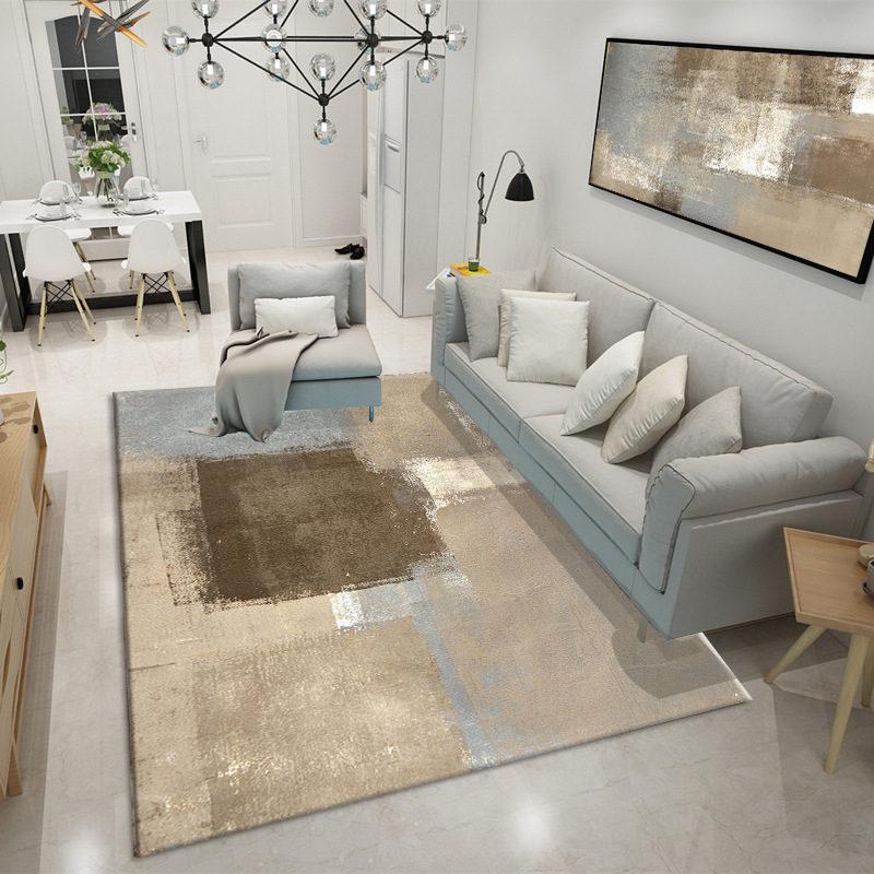 Großhandel Home Decor Moderne Tinte Zeichnung Stil Teppiche Für ...