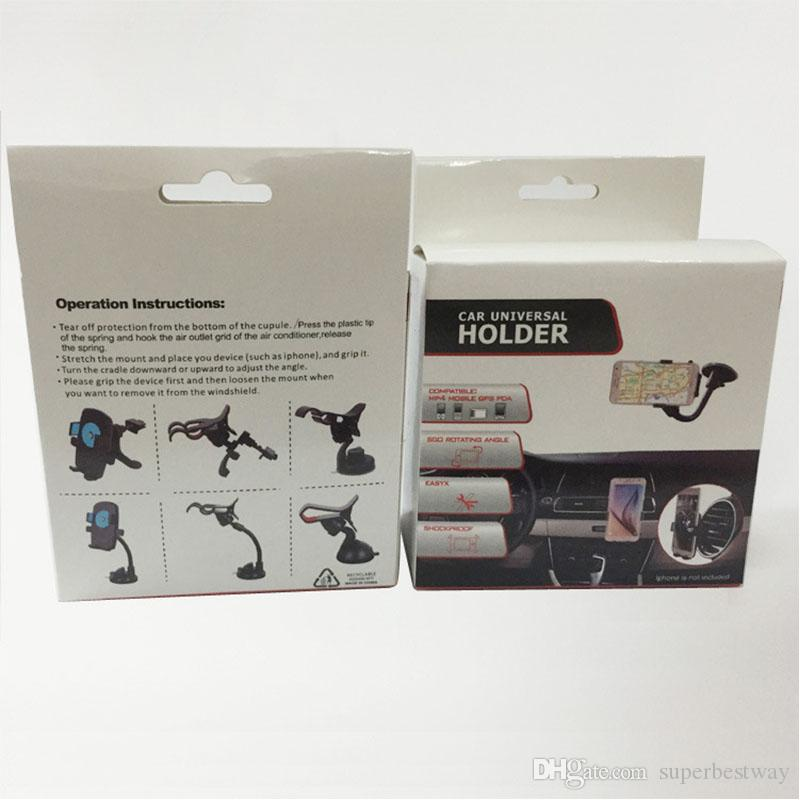 hot selling 360 Universal Car Windshield Cradle Phone Clip Mount Desktop Holder for mobile phone GPS PDA STY063