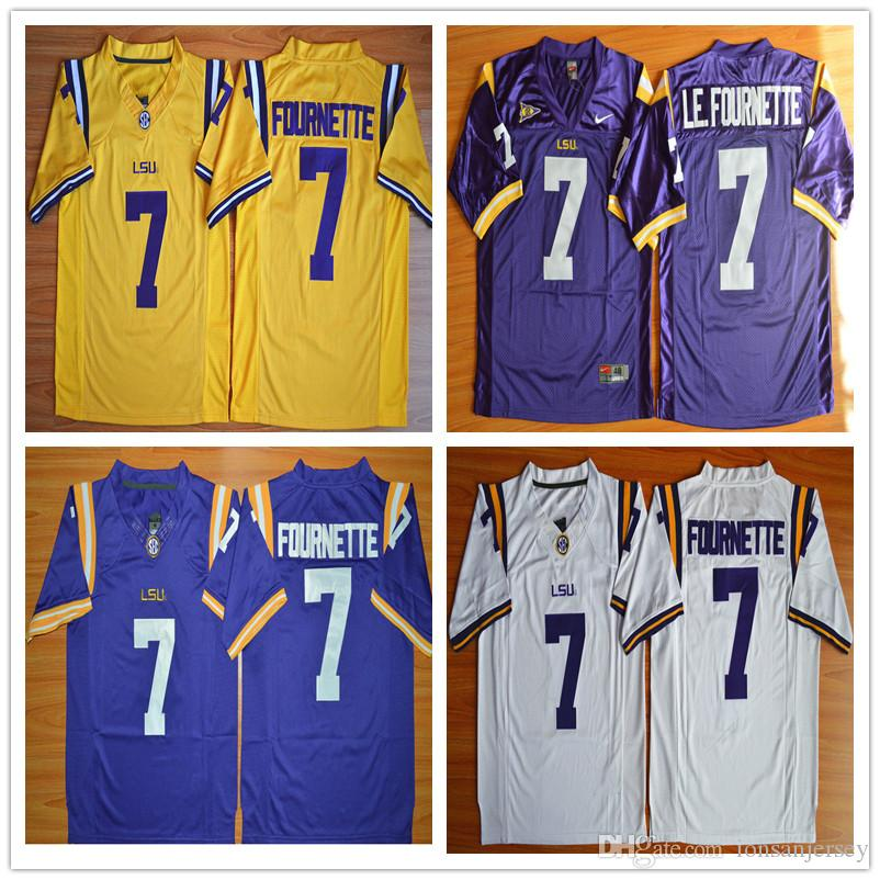 61dffe573 ... football jersey white; 2018 lsu tigers jersey 2018 footbball college 7  leonard fournette honey badger tyrann mathieu patric