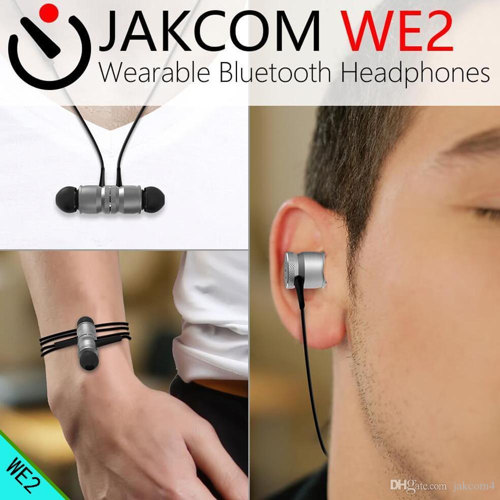 JAKCOM WE2 Wearable Wireless Earphone Hot Sale in Headphones Earphones as  ibasso hf antenna auriculares tipo c