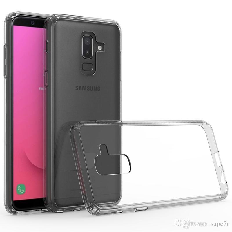 c96e2b76962 Fundas De Telefonos Para Samsung Galaxy J8 J7 2018 Plus Funda Para Teléfono  Ultra Delgada Clara Samsung A8 A6 J3 J6 J4 2018 Transparente Cubierta  Trasera ...