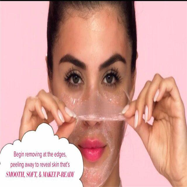 Radiance Boosting glow job mask Glitter face mask with real gold 30 minutes relaxing smooth soft facial reveal 50ml