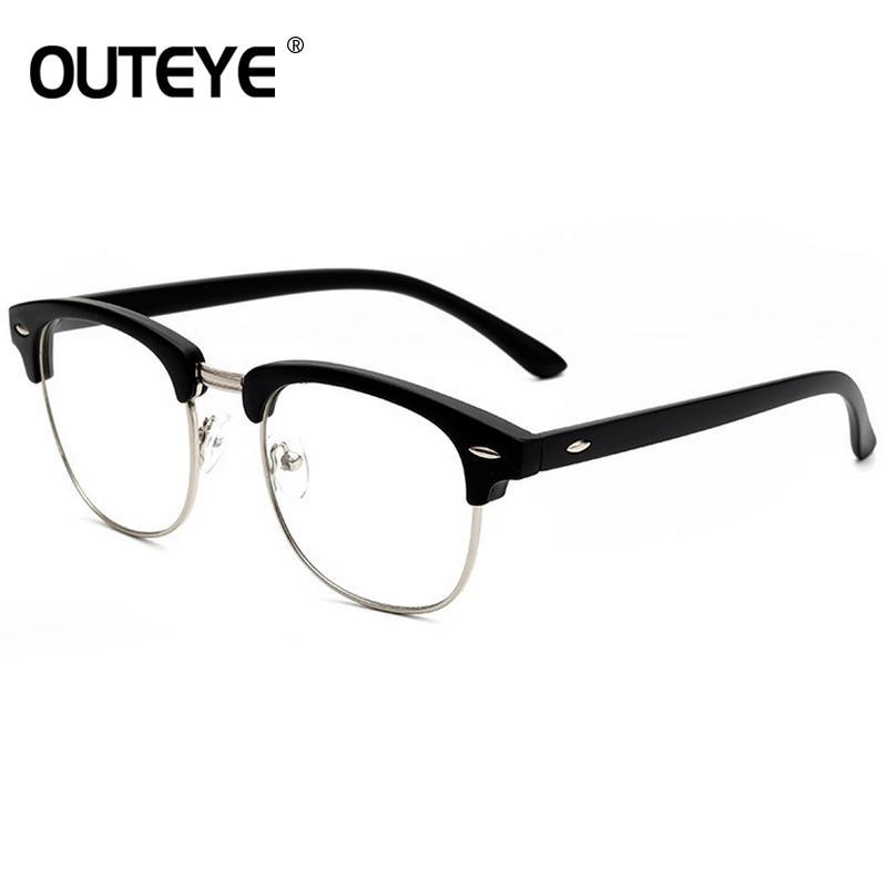 86b4b55cf2 2019 2018 Optical Eye Glasses Frames For Women Retro Clear Lens Glass Fake Eyewear  Vintage Eyeglasses Transparent Myopia Glass Frames From Grandliu