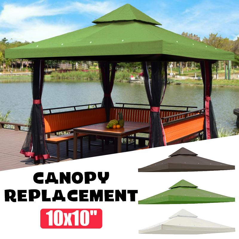 10x10u0027 Uv30 Outdoor Sun Shelter Garden Patio Cover Summer Waterproof Top  Canopy Replacement White Coffee Tipi Tent Tent Hire From Quintin, $66.88|  Dhgate.