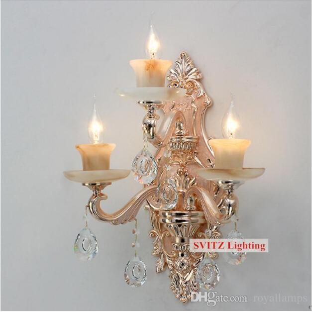 Acheter Svitz Moderne Grande Grande Lampe Murale Applique Pour Salon ...