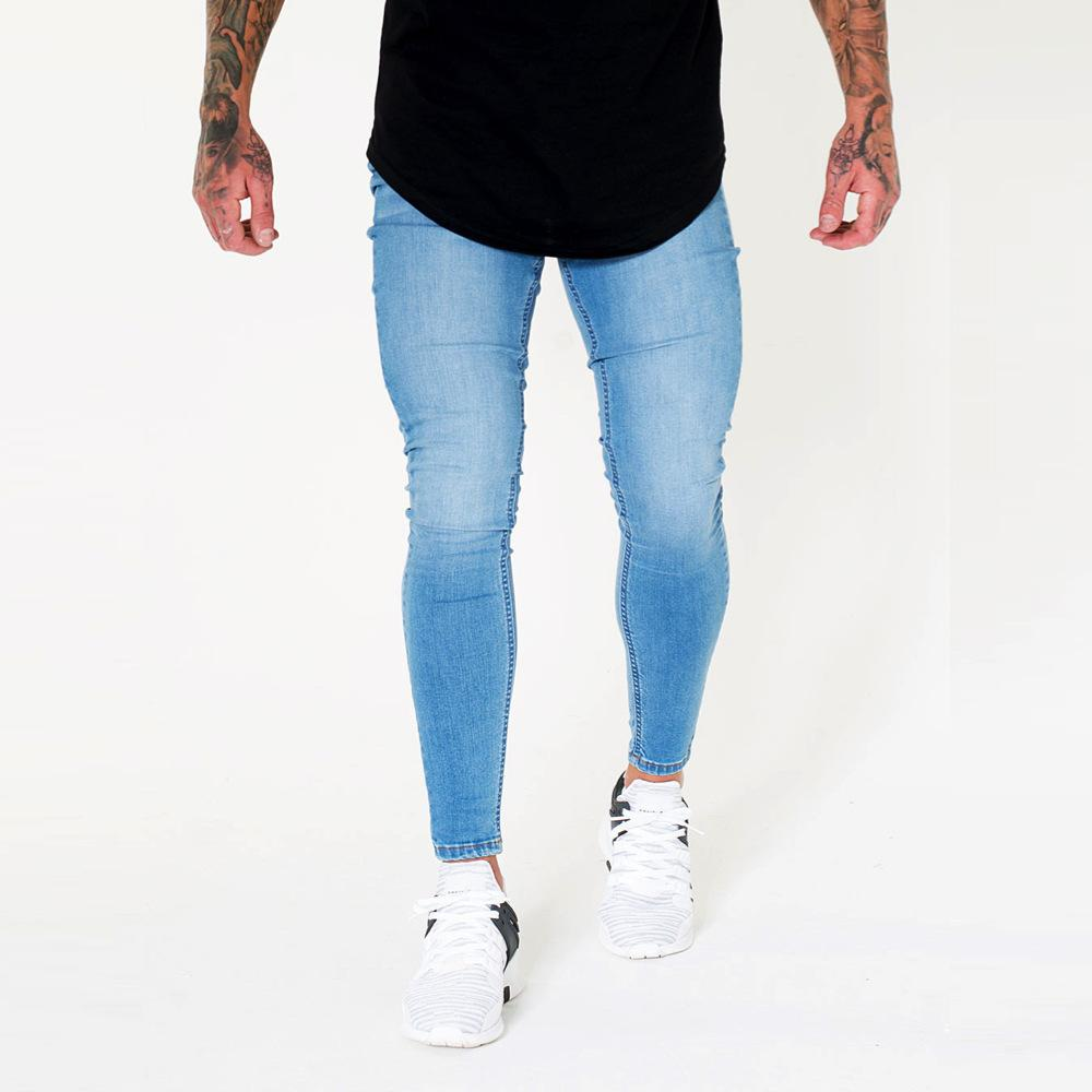 Hop Acheter Hommes Skinny Jeans Hip Unie Style Swag High Couleur 4YqW4nr