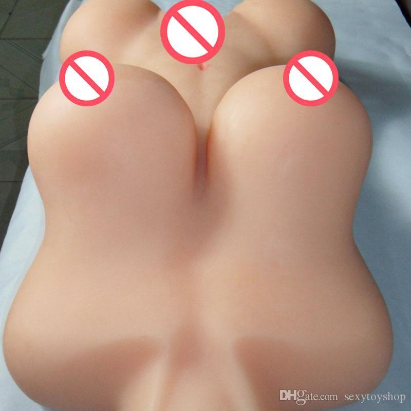 Hot Real Bonecas sexuais de Silicone Torso Japonesa Realista boneca sexual masculino borracha PUSSY masturbador Adulto Brinquedos em tamanho real Amor BONECA SEXY Para Os Homens