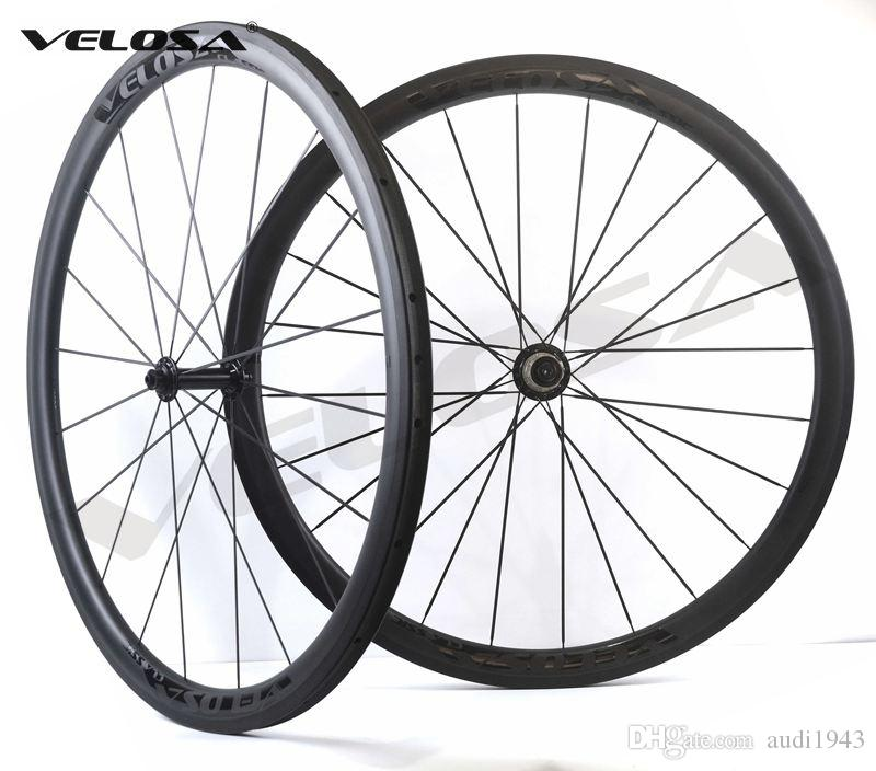 3f61d55011c Velosa Race 30 Black Series Road Bike Carbon Wheelset,700C Road Bike ...