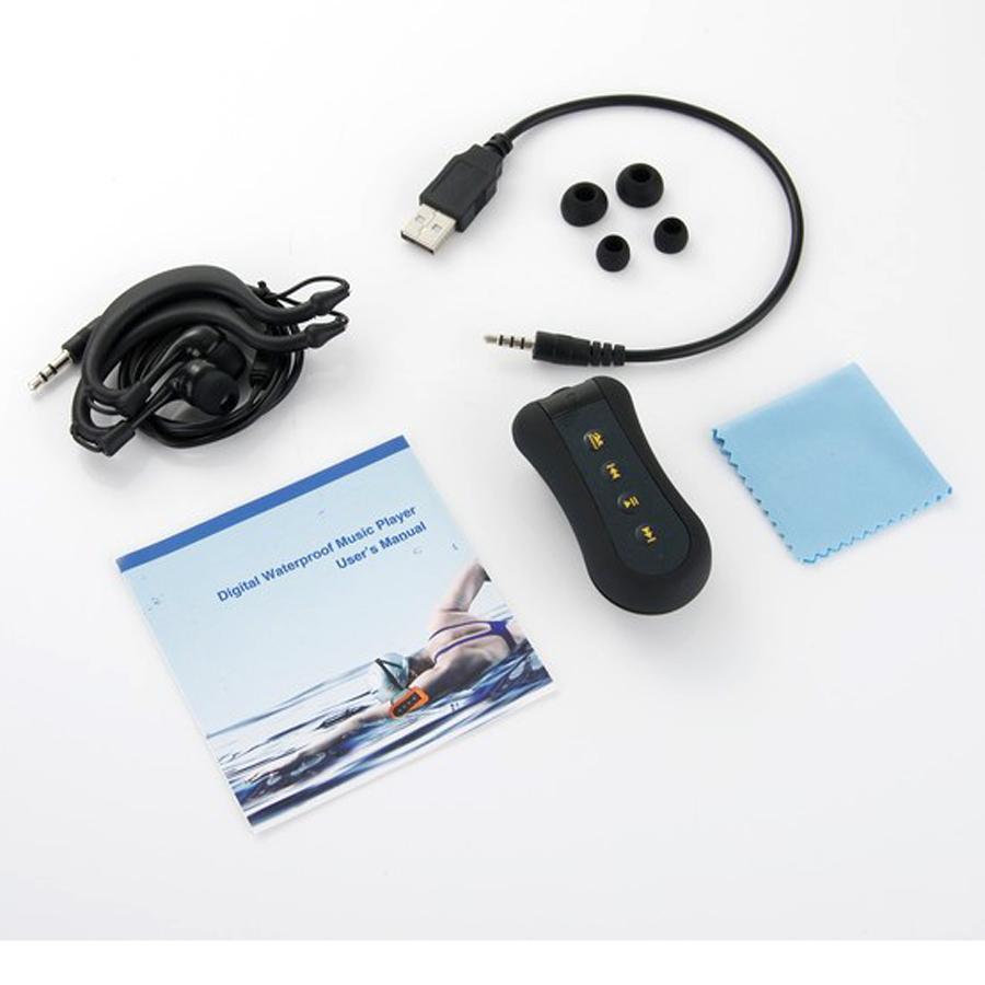 4 Gb Mp3 Musik Player Fm Radio Wasserdichte Unterwasser Schwimmen Sport Kopfhörer Grün Mp3-player Tragbares Audio & Video