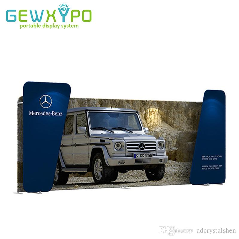 Ft Trade Show Booth Portable Straight Pillow Case Style - Portable car show display stand