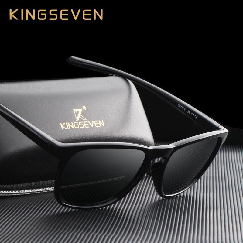 87601073ee33 KINGSEVEN 2017 Polarized Sunglasses Men Women Sport Fishing Driving Sun  Glasses Brand Designer Frame Oculos Gafas De Sol N7916 Vuarnet Sunglasses  Bifocal ...
