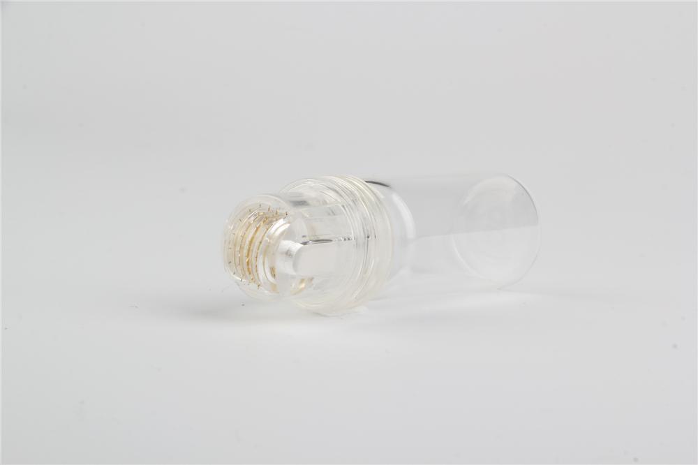 Tamax DR009 جديد التيتانيوم Microneedle التلقائي هيدرا ديرما الأسطوانة 64 الذهب نصائح الإبر الدقيقة مع أنبوب هلام