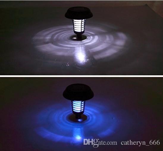Güneş Enerjili Zapper-Zenginleştirilmiş Açık Uçan Böcek Katil Toprağa Bahis Miktarı-Akülü Bahçe Lambası Sivrisinekler Güve Sinekler için Taşınabilir LED